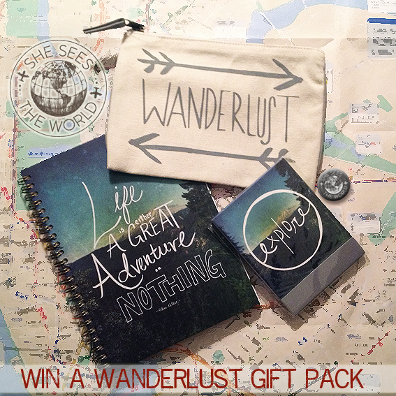 GIVEAWAY – Win a Wanderlust Gift Pack