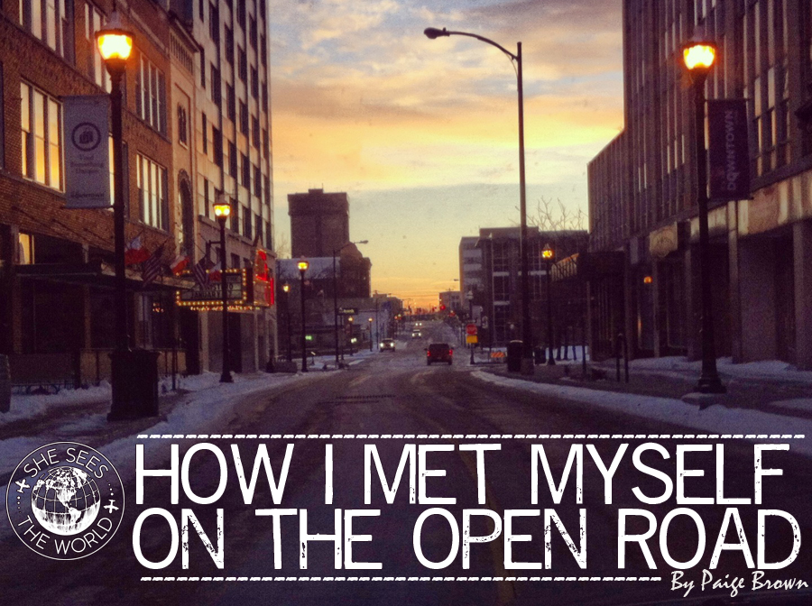 How I Met Myself on the Open Road
